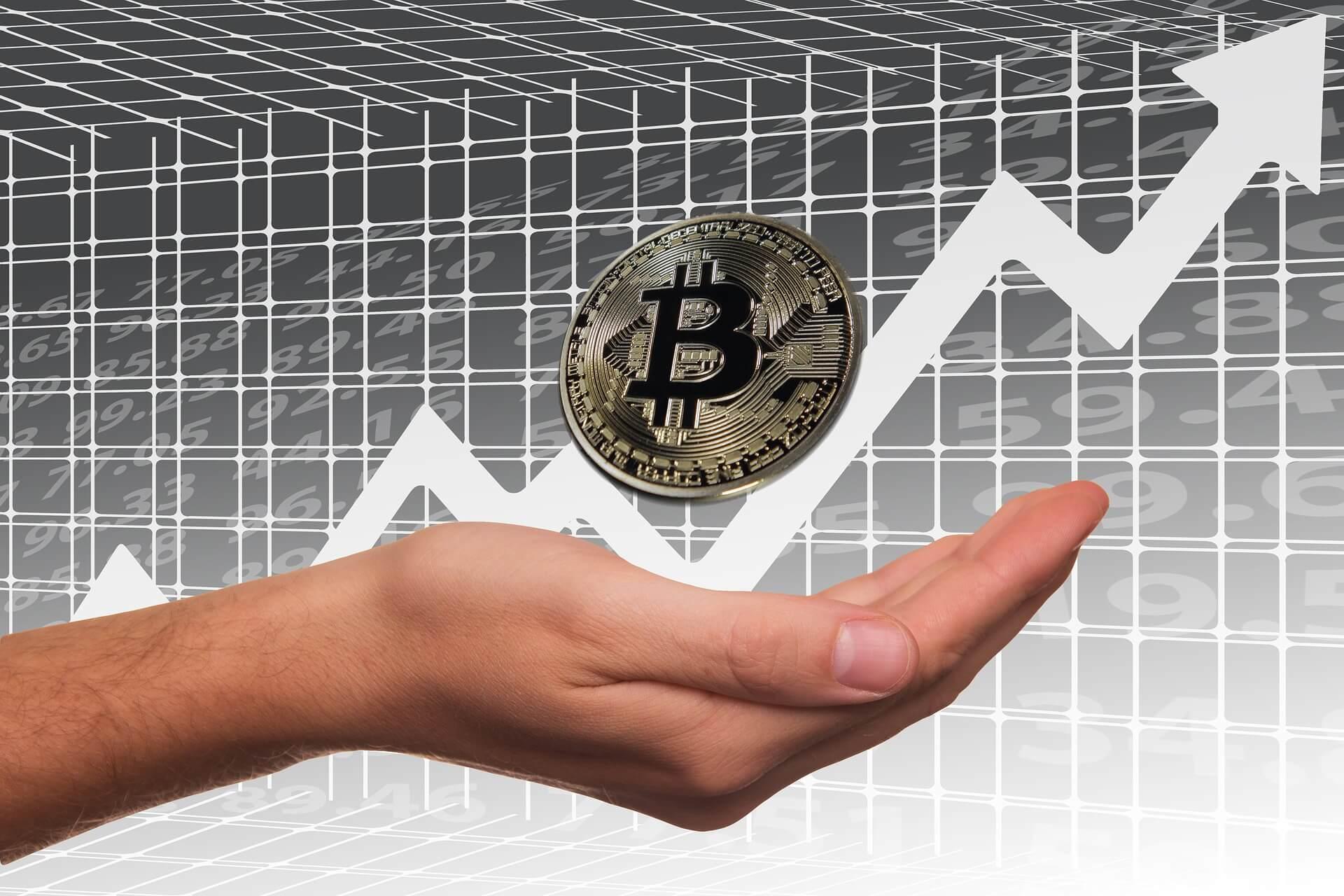 ビットコイン資産運用イメージ画像